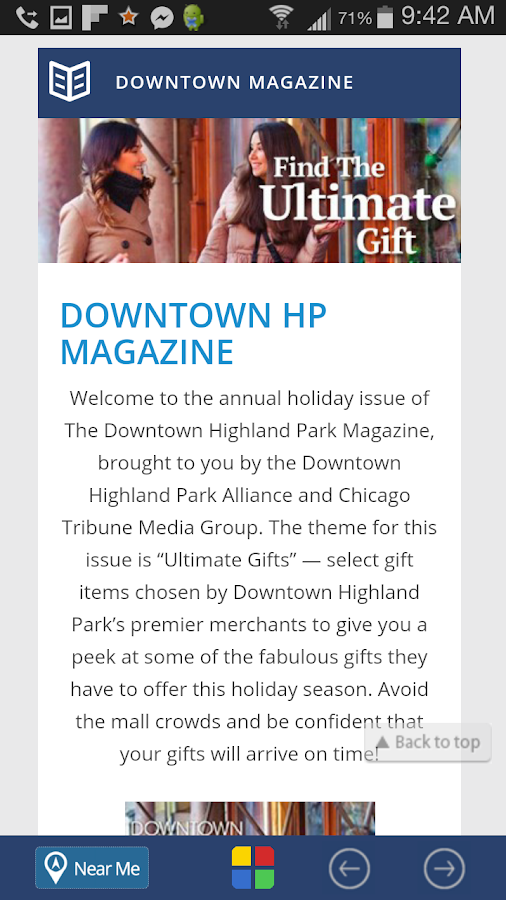 Downtown Highland Park - DTHP- screenshot