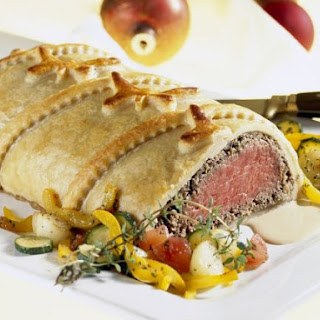 Gluten Free Beef in Puff Pastry