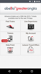 Greater Anglia Tickets- screenshot thumbnail