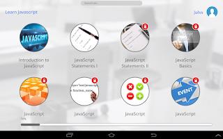 Screenshot of Learn JavaScript