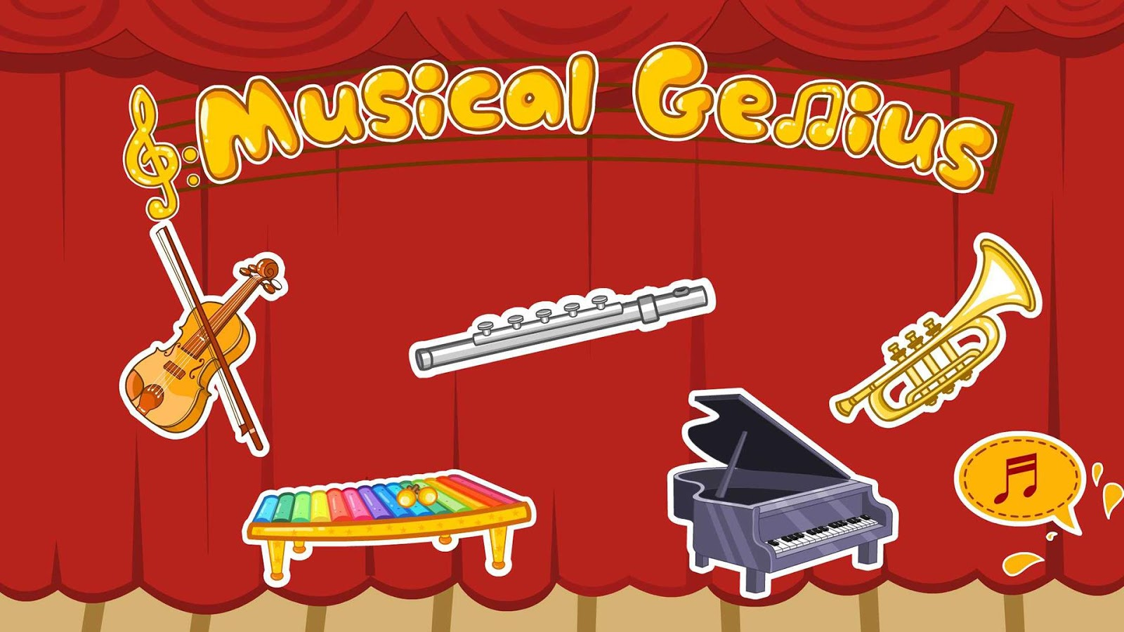 Musical Genius: game for kids- screenshot