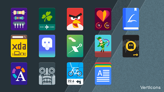 VertIcons Icon Pack v2.0.8 Patched APK Free Download 1