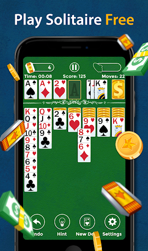 Solitaire - Make Free Money and Play the Card Game 1.6.7 screenshots 1