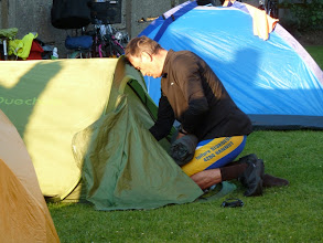 Photo: J'ai failli me tromper de tente...