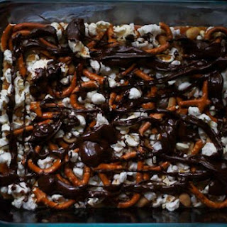 No-Bake Caramel Mud Pie Bars