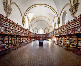 Photo: University of Salamanca Library, Salamanca, Spain