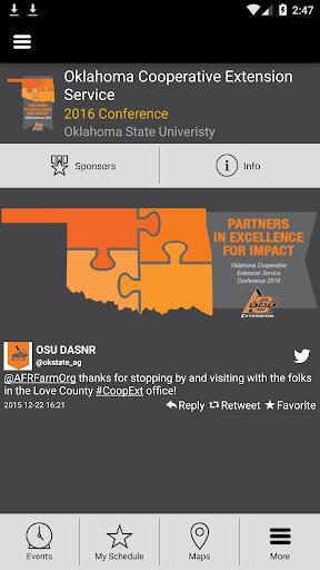 Oklahoma Coop Ext Conf 2016