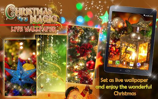 Christmas Magic ud83cudf1f Live Wallpapers Xmas 2019 2.4 screenshots 7