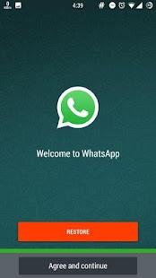 update whatsapp - náhled