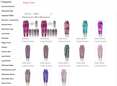 Wholesale Scarves For Women screenshot 13