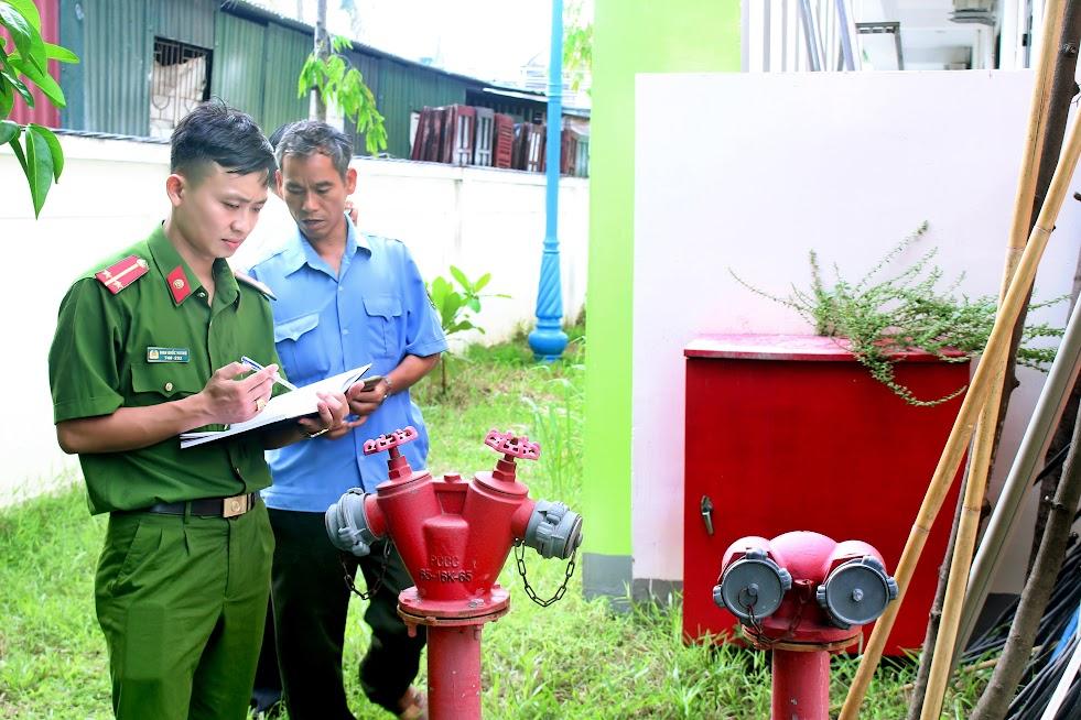 Kiểm tra các thiết bị PCCC