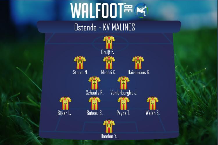 KV Malines (Ostende - KV Malines)