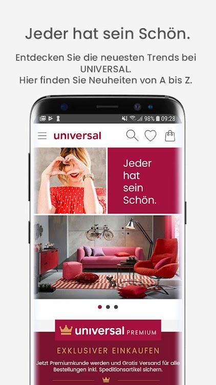 Universal – Möbel, Mode & Technik Shop – (Android Apps) — AppAgg
