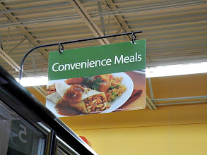 Photo: Now to make my night busy, I need something easy and delicious! Gotta love the convenience meals isle for that!