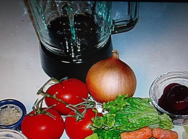 Homemade V-8 Juice Recipe