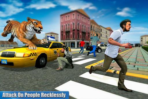 Angry Tiger Family Sim City Attack 1.0 screenshots 2