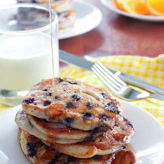 Mama Cecile's Healthy Yogurt Pancakes.