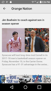 OrangeNation WSYR LocalSYR.com- screenshot thumbnail