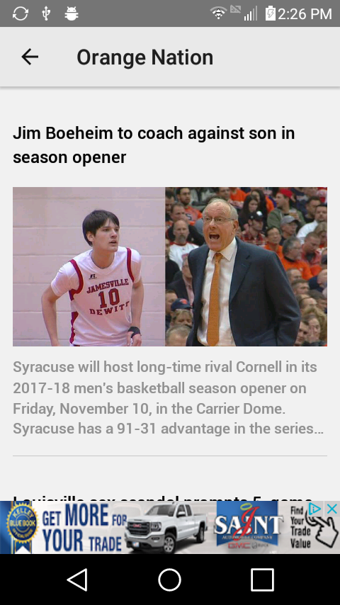 OrangeNation WSYR LocalSYR.com- screenshot