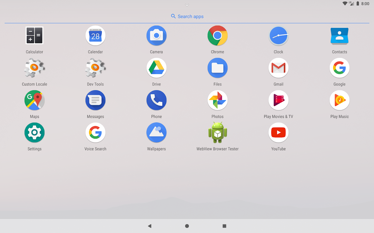 Lean Launcher screenshots