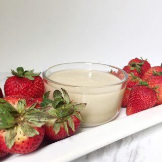 Easy and Quick 3 Ingredient Fruit Dip Recipe