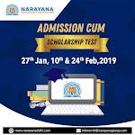 Narayana Institutes Admissions cum Scholarship Test