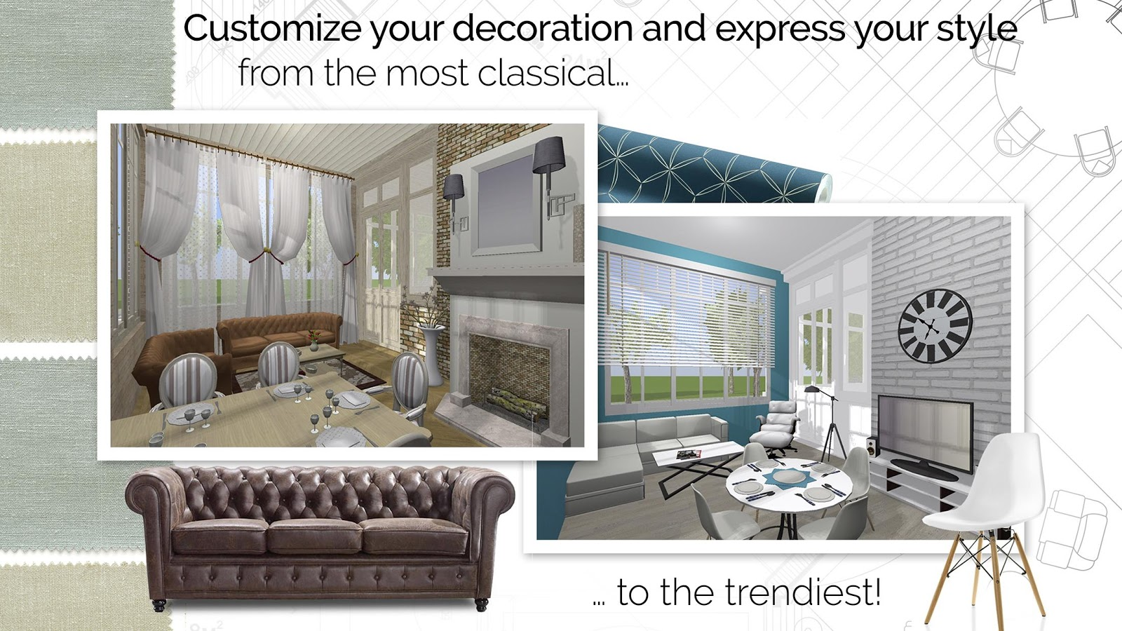 Home design 3d freemium android apps on google play for Home 3d