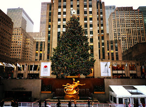 """Photo: """"All is bright...""""  New York Photography: The Rockefeller Center Christmas Tree  Wishing everyone regardless of what they believe in or celebrate a beautiful day today and tomorrow full of joy, happiness, peace and love.  —-  One of my favorite renditions of Silent Night: stunningly beautiful:  Silent night - Sinead O'Connor (audio)    You can view this post if you wish at my site here:  http://nythroughthelens.com/post/14735229467/the-rockefeller-center-christmas-tree-midtown    Tags: #photography #christmas #newyorkcity #newyorkcityphotography #rockefellercenter #christmastree"""
