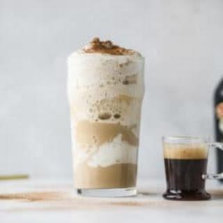 Frozen Irish Cream Cappuccinos.