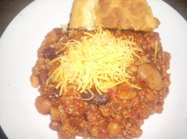 Kellie's 15-bean Turkey Chili