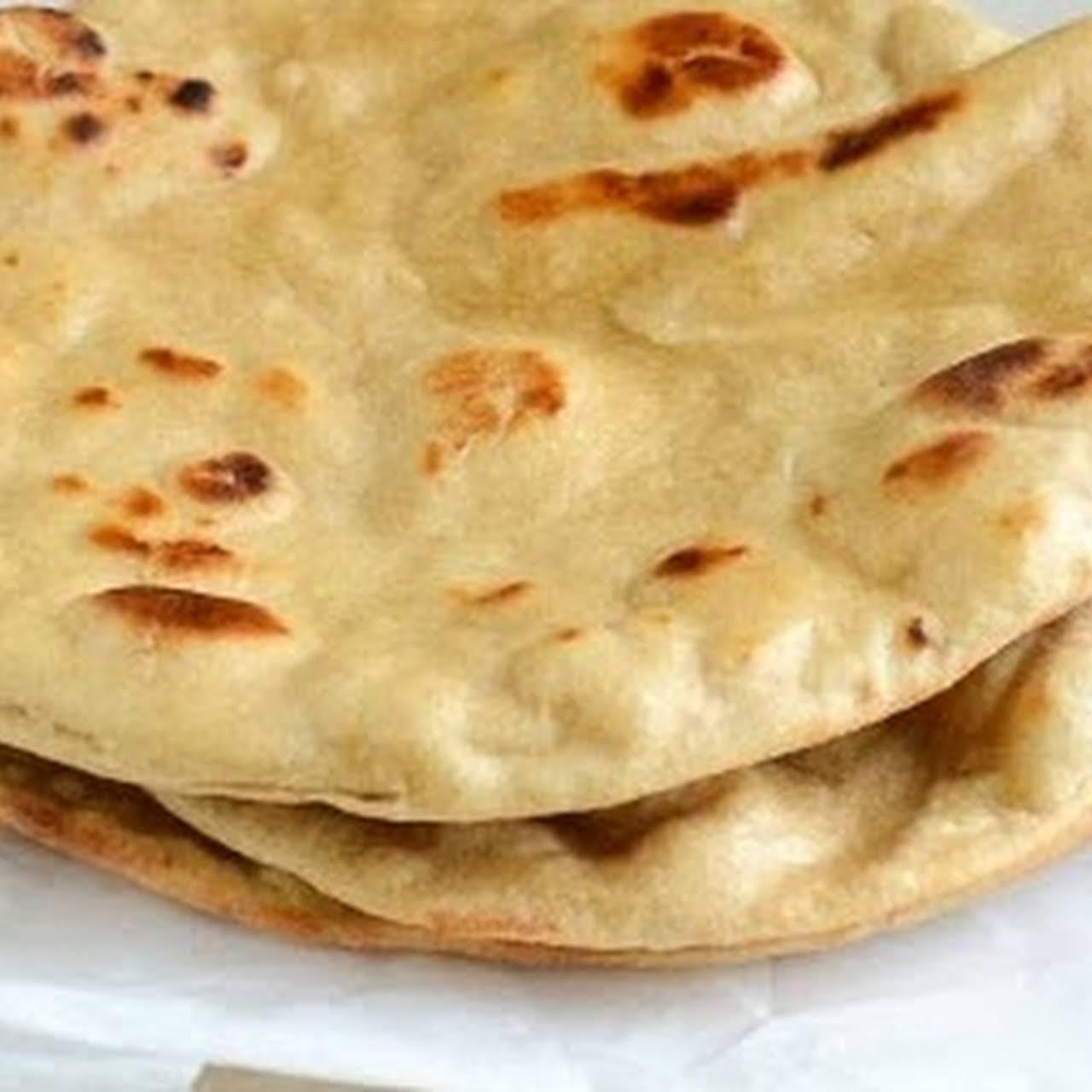 Tandoori Roti / Tandoori Roti Recipe In oven / Baked Tandoori Roti