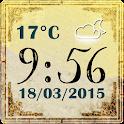 Старые Погода Часов icon