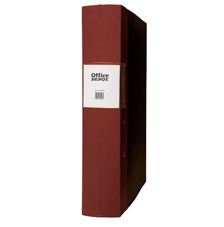 Träryggspärm A4 60 mm brun
