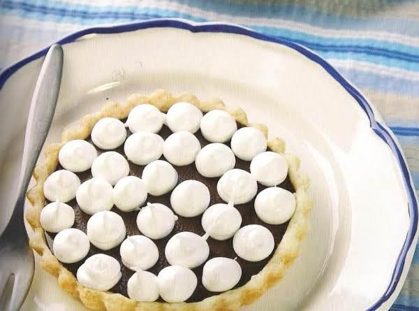 Dark Chocolate And Cream Cheese Tarts Recipe