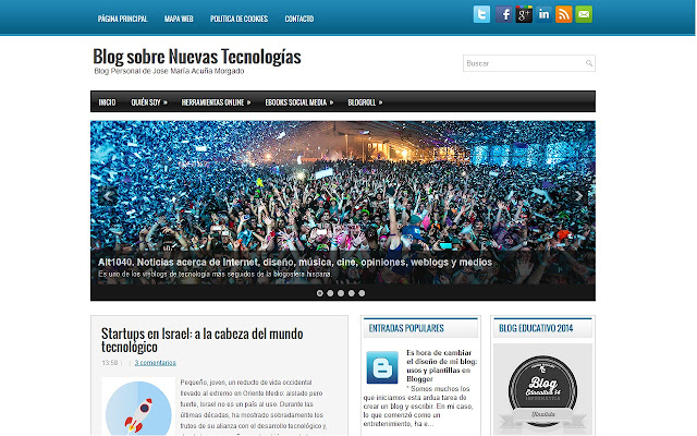 Actualidad - Blog Nuevas Tecnologías
