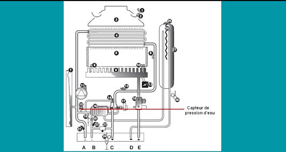 Code defaut chaudière saunier duval - náhled