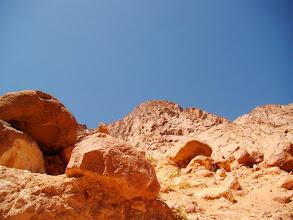 Photo: #005-Le désert sur la route de Sainte Catherine