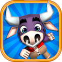 Jungle Bull Runner 3D Game icon