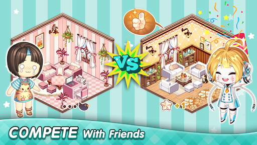 Kawaii Home Design - Decor & Fashion Game  screenshots 3