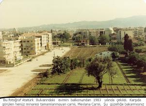 Photo: Rüştü Şardağ caddesi 1980'li yıllar...