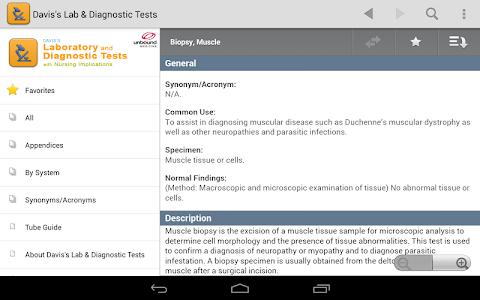 Davis's Lab & Diagnostic Tests screenshot 10