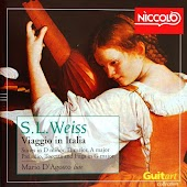 Silvius Leopold Weiss - Music for Lute