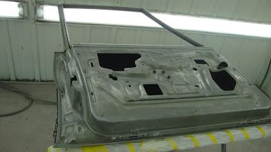 Photo: Clean bare metal ready for epoxy primer