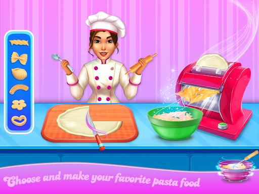 Make pasta cooking kitchen apktram screenshots 7