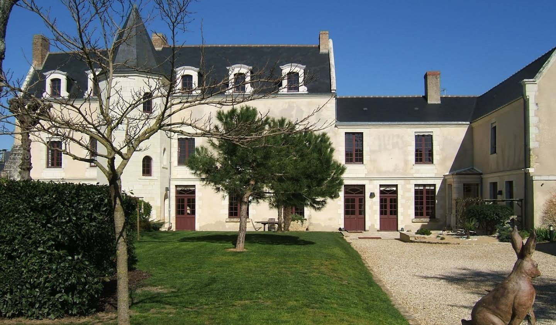 Propriété avec piscine Saumur
