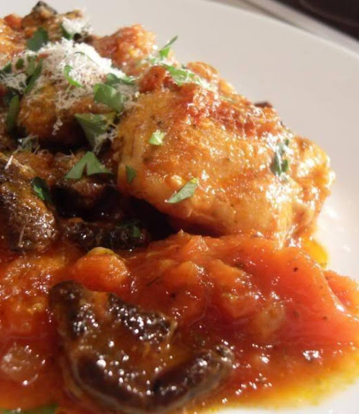 Kimmy's Chicken Cacciatore Recipe