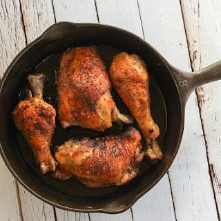 Crispy Cast Iron Chicken