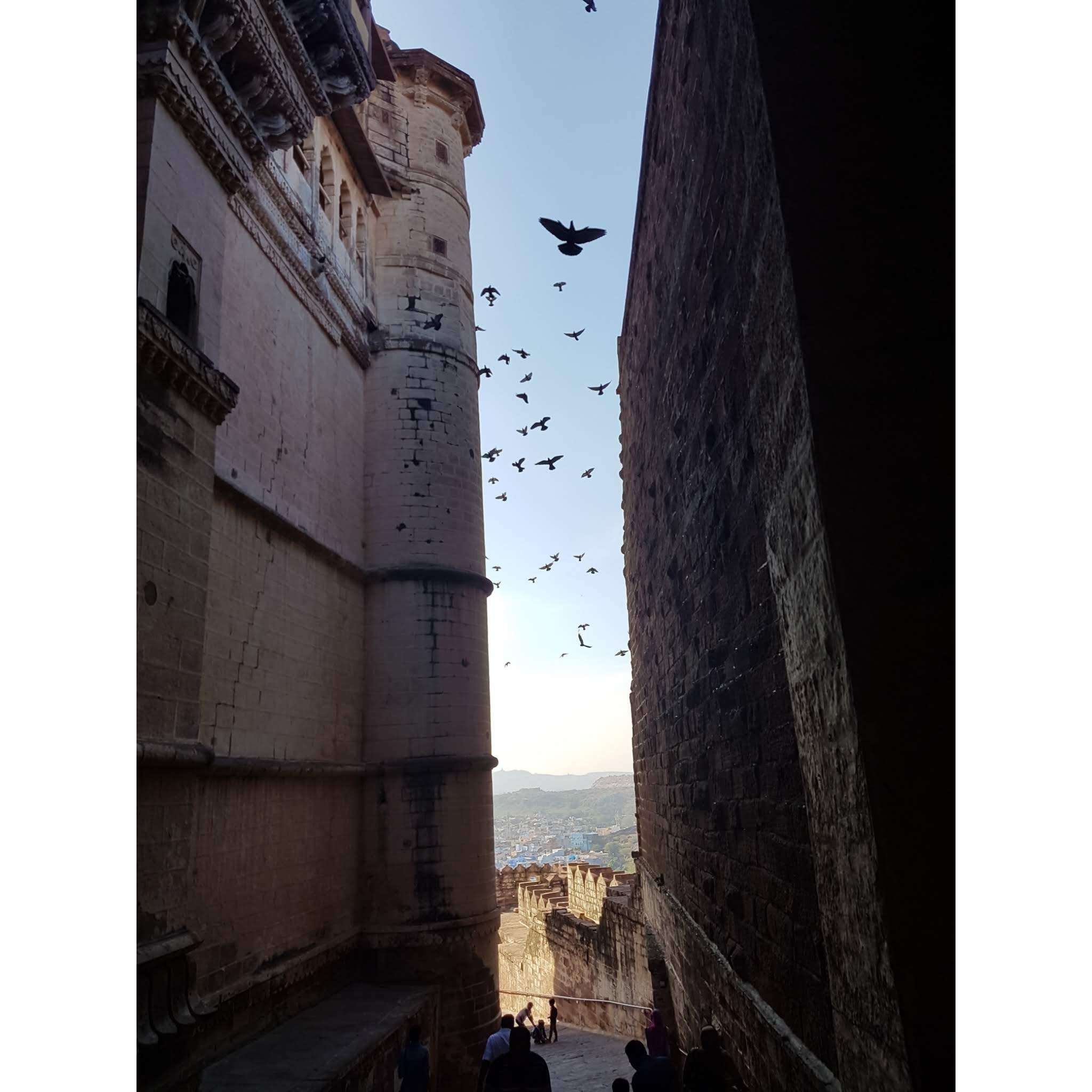 Inside Mehrangarh Fort
