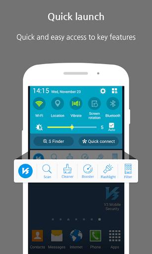 V3 Mobile Security - AntiMalware/Booster/Apps Lock 3.1.18.8 screenshots 2