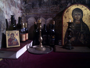 Photo: lithurgic wine in the church